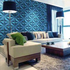 A10001 - 3D PVC Wall Panel 1 Box 32.29 Sq.Ft