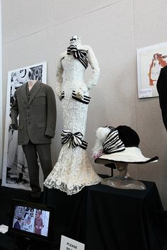 Audrey Hepburn's Ascot Dress from My Fair Lady | Flickr - Photo Sharing!