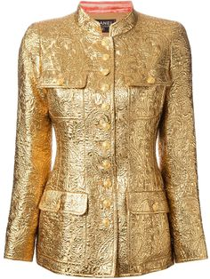 Chanel 24K Gold Jacket 96A MET MUSEUM LESAGE EMBROIDERED VOGUE MEISEL GAGA $10K  #Chanel #Military $10,000 NWOT #CHANEL96A #GOLD #LESAGE  #CHANELRUNWAY JACKET #VINTAGEChanel #METMUSEUM #COSTUMEINSTITUTE #LADYGAGA #LINDAEVANGELISTA #STELLATENNANT #STEVENMEISEL #COSTUMEINSTITUTE #METMUSEUM #ANNAWINTOUR #SEPTEMBERISSUE #VOGUE #GRIPOIX #GOLD #24KGOLD #LESAGE #COUTURE