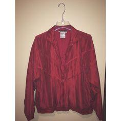 Vintage silky blazer Thrift find Jackets & Coats Blazers