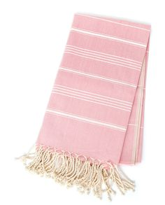 The Michelle - Cotton Candy Pink — Pamuk & Co. Pink Cotton Candy, Turkish Towels, Bath Decor, Loom, Modern Design, Weaving, Blanket, Luxury, Crafts