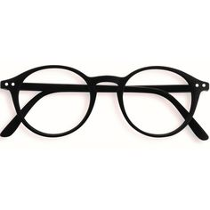 0b42e0281cd7 Stylish Izipizi Black Rounded Reading Glasses ( 33) ❤ liked on Polyvore  featuring accessories