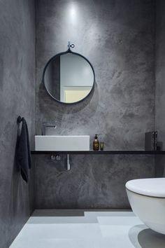 Modern Scandinavian Bathroom Interior In White - Interior Design Ideas & Home De. Modern Scandinavian Bathroom Interior In White – Interior Design Ideas & Home Decorating Inspirat Bad Inspiration, Bathroom Inspiration, Bathroom Ideas, Bathroom Designs, Cloakroom Ideas, Kitchen Designs, Bathroom Interior, Modern Bathroom, Loft Bathroom
