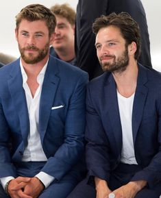 Chris and Sebastian