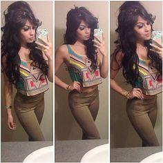 ♥ her hair! . . . . . . . adilene idalie'!  Empire Management |  Twitter: @delempire1 | Instagram: @delempire1 FB: empiremariah  www.mariahcorral.com