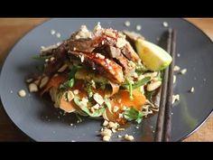 Thai Beef Salad Recipe / Healthy Recipe - YouTube