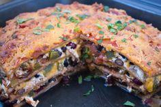 Mexican Lasagna Recipe | Quick, Easy, Healthy