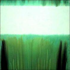 Marc Devade, Sans titre, 1972.  Encre sur toile.  177 x 244 cm