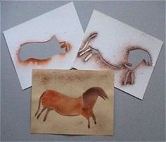Le cheval des hommes de Cro-Magnon History Projects, School Projects, Cro Magnon, Home Education Uk, History For Kids, Ecole Art, Stone Age, Creative Kids, Activities For Kids