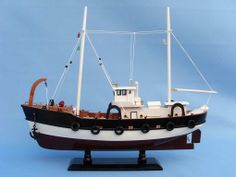 $79.99-Handcrafted Model Ships Seas the Day Fish Model Boat | Wayfair PICTURE 2