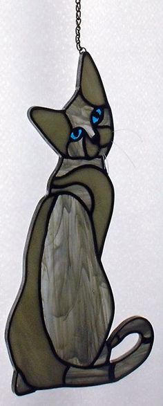 Grey the Stained Glass Cat©