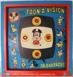 AMSCO: 1960s Walt Disney Mickey Mouse Club Toon-A-Vision
