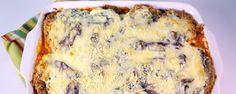 Layered Eggplant Lasagna Recipe by Brandee Ellis - The Chew Veggie Dishes, Veggie Recipes, Food Dishes, Vegetarian Recipes, Main Dishes, Pasta Dishes, Vegetable Meals, Vegetarian Dish, Going Vegetarian