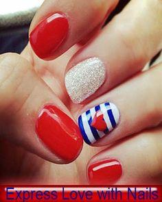 Love Nail Art   See more nail designs at http://www.nailsss.com/french-nails/2/