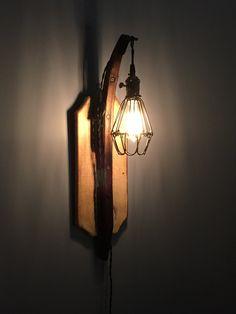 Vintage Cage Horse Hame Light by CornerPocketTraders on Etsy