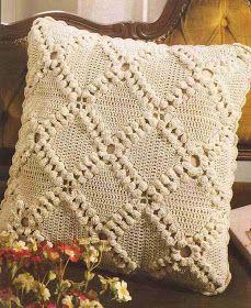 Cojines A Crochet Ideas 279 Cubre Cojn A Crochet O Ganchillo Cojines A Crochet Crochet Pillow Cases, Crochet Pillow Patterns Free, Crochet Cushion Cover, Crochet Baby Dress Pattern, Crochet Cushions, Crochet Flower Patterns, Crochet Chart, Filet Crochet, Crochet Motif