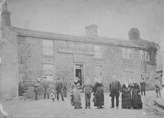 Joshua Bramham (1824-1890), Landlord of The Old Ball Inn, Horsforth, Yorkshire  This photograph was taken in about 1880.