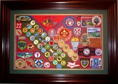 Badge display