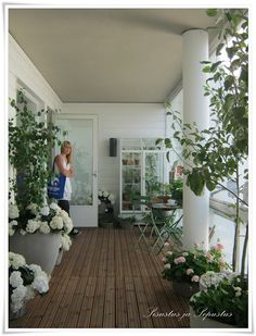 Amazing/lively porch/ Balcony