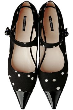 Incredibly cute flats by Giorgio Armani - a perfect winter to spring transition