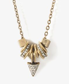 Geo Rings Necklace | FOREVER21 - 1027705491