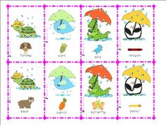 Free! Rain or Shine Compare/Contrast use it as cards, matching, memory, or go-fish...32 cards for a fun reinforcer