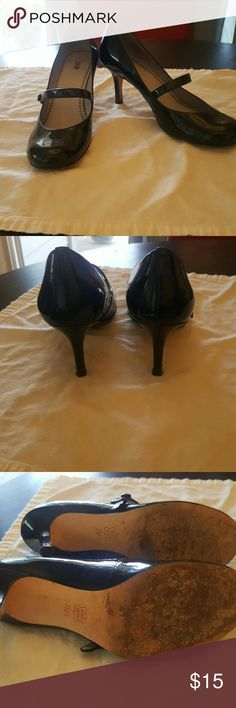 BP Shoes from Nordstrom Black patent heeled Mary Janes bp Shoes Heels