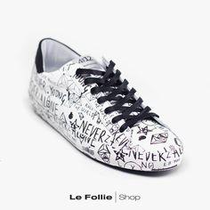 Sneakers Quattrobarradodici White/black
