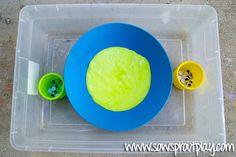Sensory Play ? Fluffy Slime