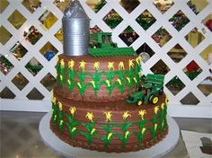 John Deere wedding grooms cake or maybe future birthday cake? :)
