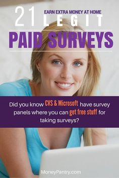 21 Top survey sites plus 36 other market research panels that you probably haven't heard of.