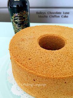 Baileys Chocolate Luxe Mocha Chiffon Cake