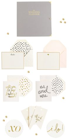 Sugar Paper for J.Crew Wedding
