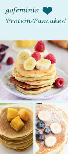 Lust auf Pancakes? Nicht nur Pancakes: Hier gibt's Protein-Pancakes: http://www.gofeminin.de/kochen-backen/protein-pancakes-s1540143.html  #proteinpancakes