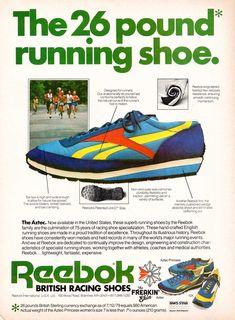 Reebok Aztec 1980 vintage sneaker ad   The Freakin  Ekin 39ddc2462