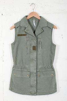 Army Cargo Vest