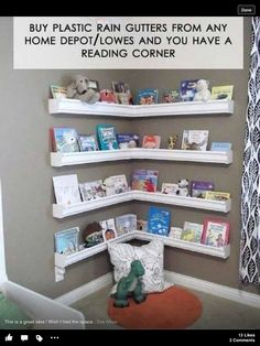 DIY shelf