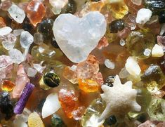 Ocean sand - magnified 250 X's