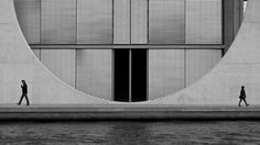 Berlin Architecture (Black and White) Wallpapers