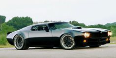 Firebird..Chopped Top, Wider flares, Great wheel choices & Very cool! :)