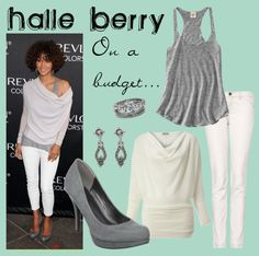 Halle Berry on a budget, created by alyssa-leanne on Polyvore