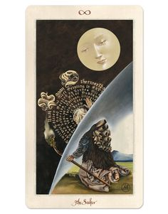 """Pagan Otherworlds Ad Card / """"The Seeker"""""""