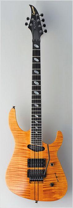 Caparison Tat Special Amber Electric Guitar
