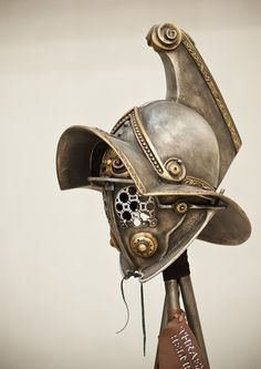 Gladiator Helmet ReplicaAncient Rome by BirdArtBulgaria on Etsy