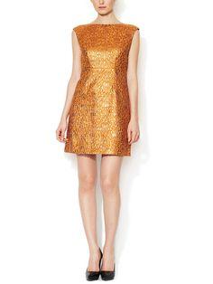 Beth Boatneck A-Line Dress