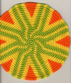 tapestry crochet mandala