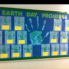 Earth Day Promises! Thank you Pinterest!! :)