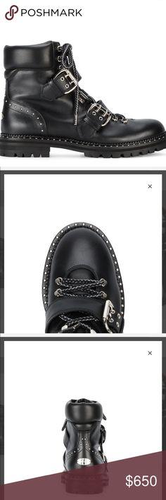 Jimmy Choo Breeze Flat Moto Boots. Jimmy Choo Breeze Flat Moto Boots size 9 Jimmy Choo Shoes Combat & Moto Boots
