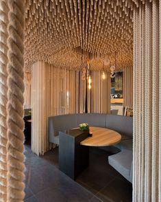 Luxury Odessa restaurant design by YOD Design Lab - Adelto Odessa Restaurant, Deco Restaurant, Restaurant Interior Design, Cafe Interior, Luxury Restaurant, Restaurant Lighting, Modern Restaurant, Restaurant Interiors, Industrial Restaurant
