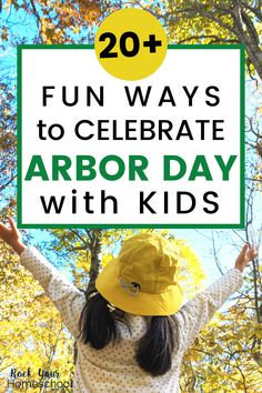 Arbor Day is a sensational holiday to celebrate with kids! You'll have a blast with these crafts, activities, & printable resources. My boys & I can't wait to do the first activity. Keep your celebration simple & focused on the awesomeness of trees! Spring Activities, Hands On Activities, Activities For Kids, Outdoor Learning, Fun Learning, Learning Activities, Arbour Day, Step Kids, Nature Study